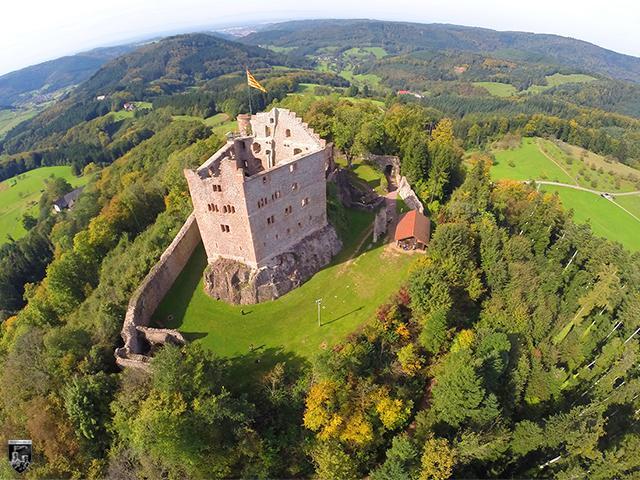 Burg Hohengeroldseck in Baden-Württemberg