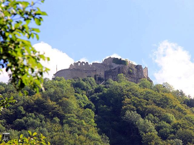 Burg und Festung Hohenneuffen in Baden-Württemberg