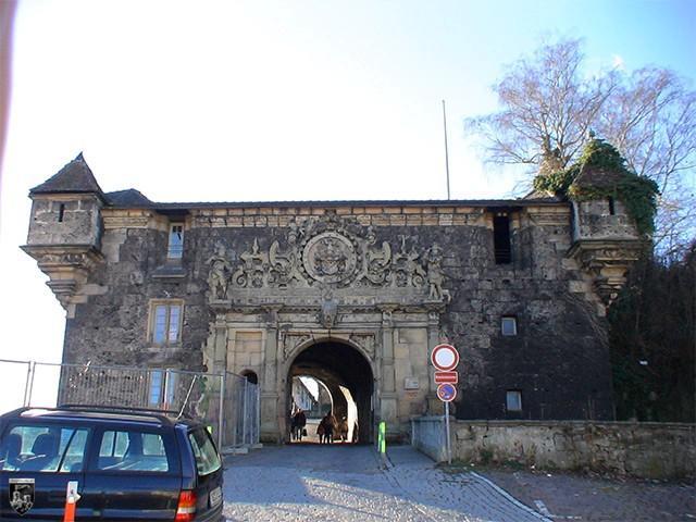 Burg und Festung Hohentübingen in Baden-Württemberg