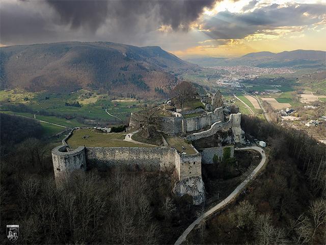Burg und Festung Hohenurach in Baden-Württemberg