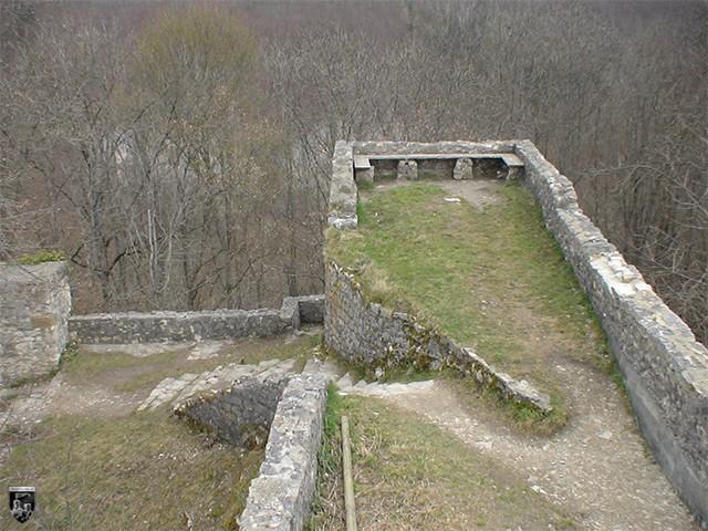 Burg Hohenwittlingen in Baden-Württemberg