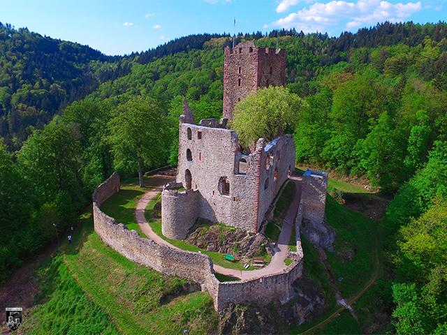 Burg Kastelburg in Baden-Württemberg