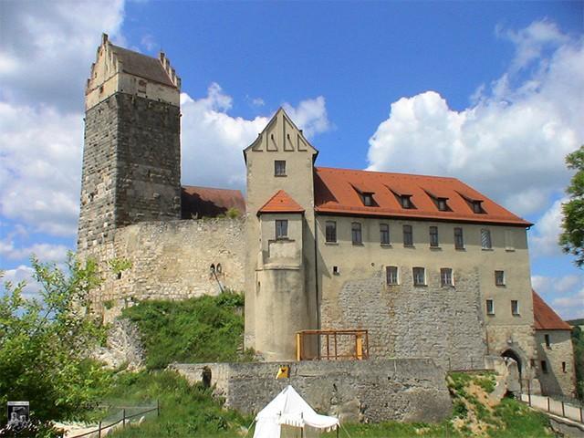 Burg Katzenstein in Baden-Württemberg