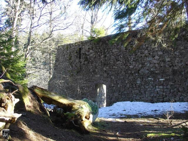 Burg Kirneck in Baden-Württemberg