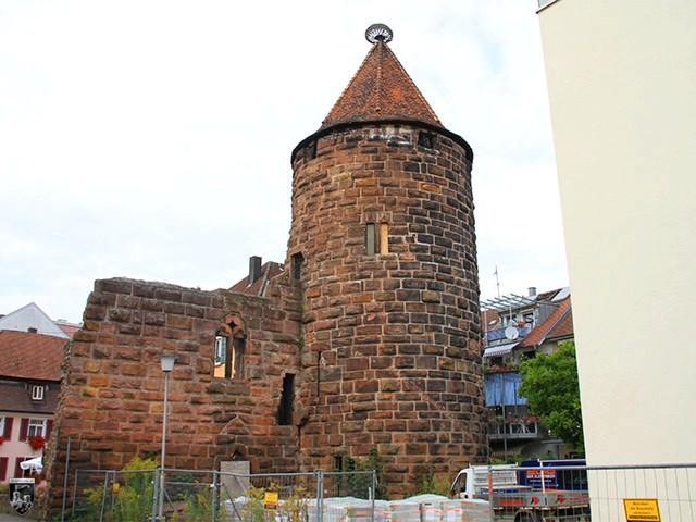 Burg Lahr, Storchenturm in Baden-Württemberg