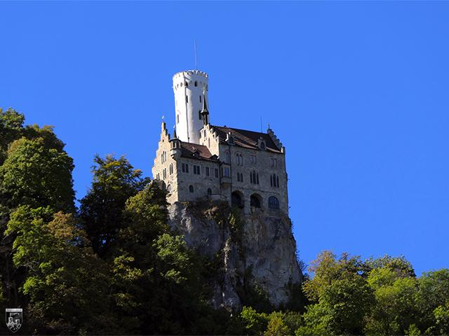 Burg und Schloss Lichtenstein in Baden-Württemberg