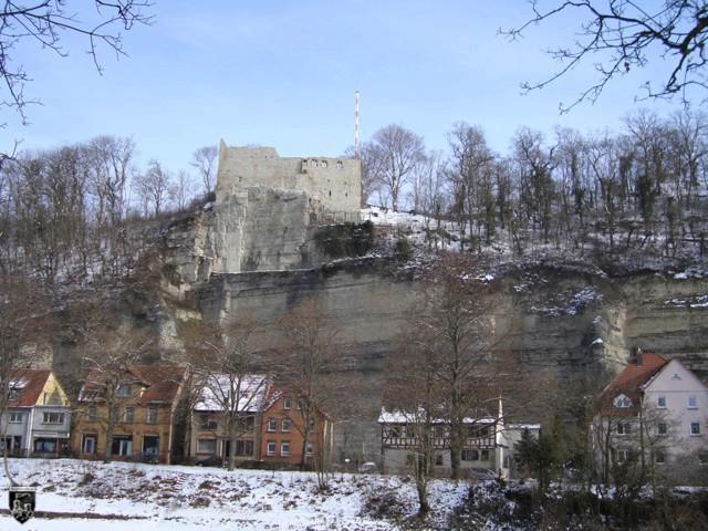 Burg Löffelstelz, Dürrmenz in Baden-Württemberg