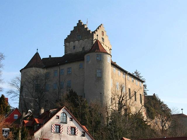 Burg Meersburg in Baden-Württemberg