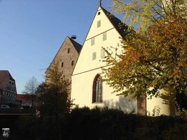 Burg Merklingen in Baden-Württemberg