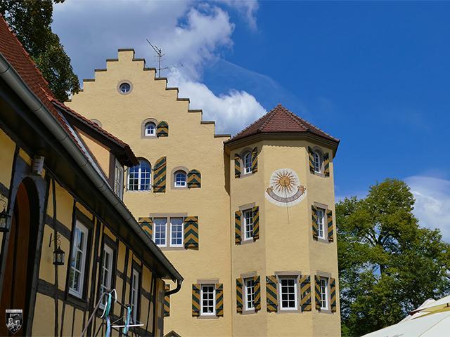 Schloss Mühlhausen in Baden-Württemberg