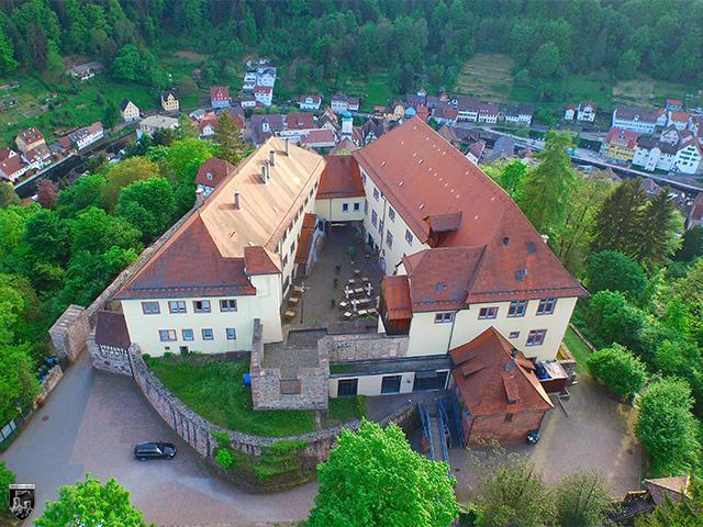 Schloss und Burg Neuenbürg in Baden-Württemberg
