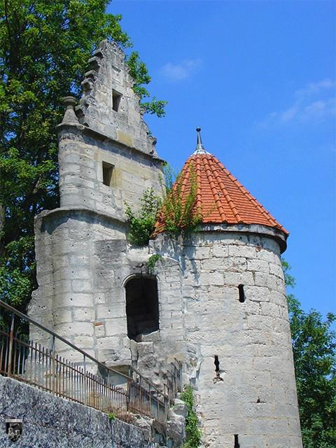 Burg Niederalfingen, Marienburg