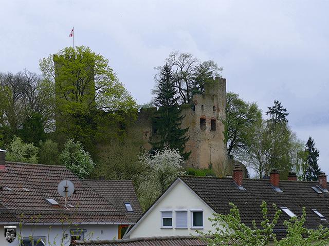Burg Obergrombach in Baden-Württemberg