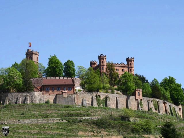 Burg und Schloss Ortenberg in Baden-Württemberg