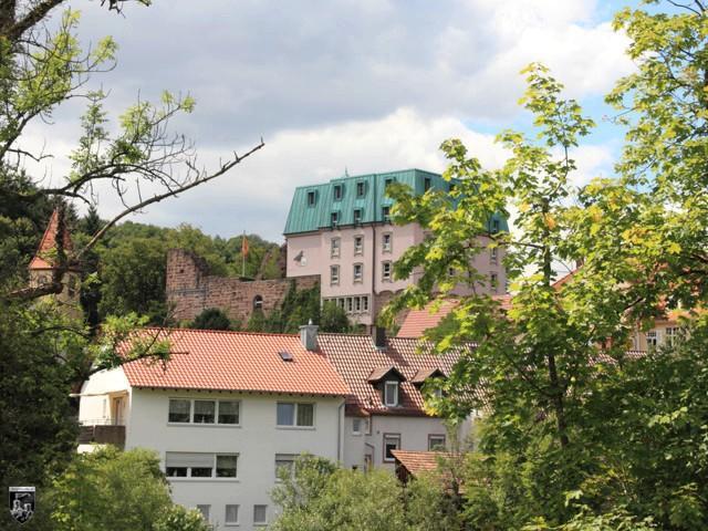 Burg Weißenstein, Rabeneck in Baden-Württemberg