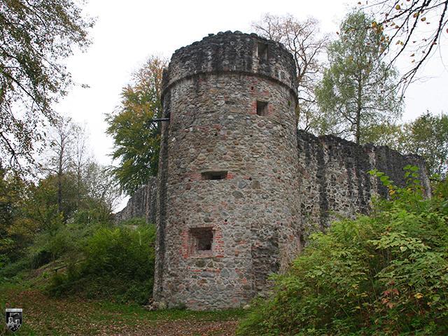 Burg Ratzenried, Alt-Ratzenried, Oberes Schloss Ratzenried in Baden-Württemberg