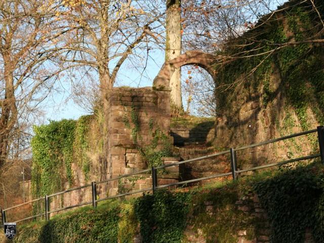 Burg Reichenstein (Neckar) in Baden-Württemberg