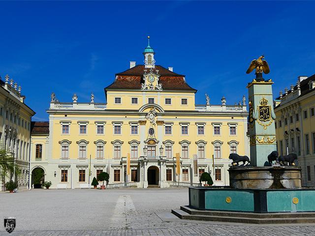 Residenzschloss Ludwigsburg in Baden-Württemberg