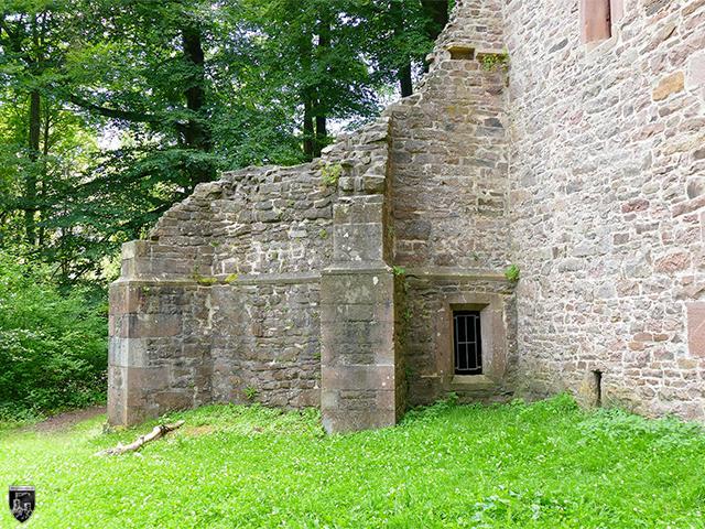 Burg Langensteinbach, Römerturm
