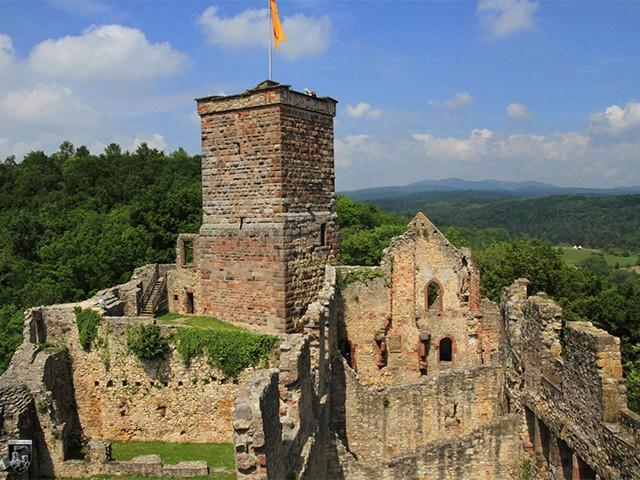 Burg Rötteln in Baden-Württemberg