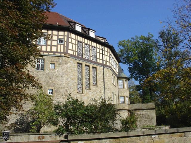Burg und Schloss Sachsenheim, Großsachsenheim in Baden-Württemberg