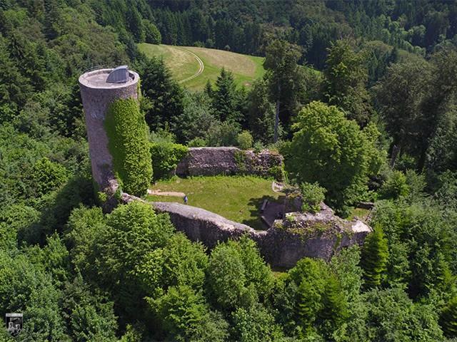 Burg Sausenburg in Baden-Württemberg