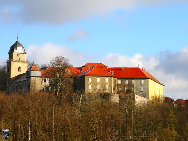 Schloss Bartenstein in Baden-Württemberg