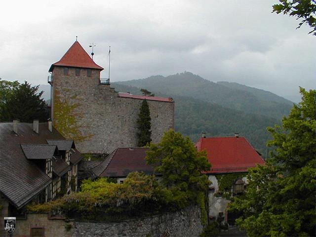Schloss Eberstein - Vor allem bei Regen und schlechtem Wetter zeigt sich der Schwarzwald von einer ganz besonderen Seite und taucht die Anlage in eine mystische Atmosphäre
