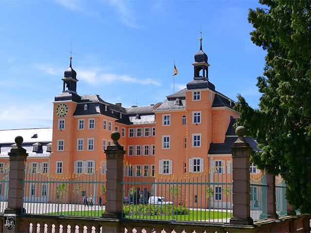 Schloss Schwetzingen in Baden-Württemberg