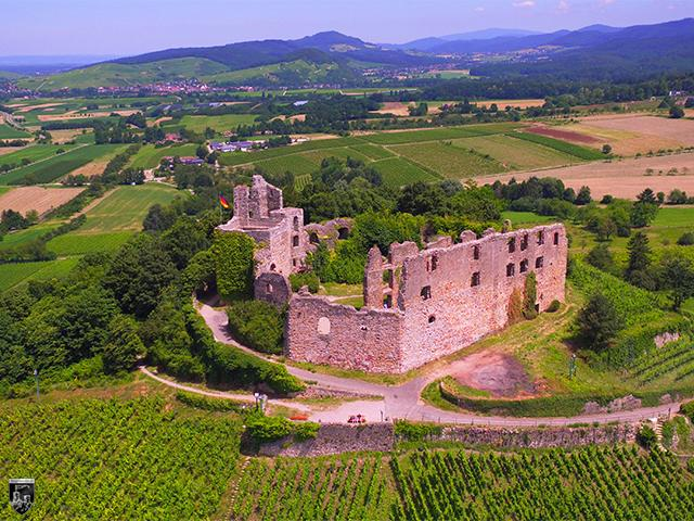 Burg Staufen in Baden-Württemberg