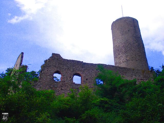 Burg Strahlenburg in Baden-Württemberg