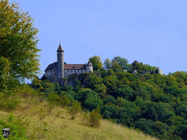 Burg Teck in Baden-Württemberg