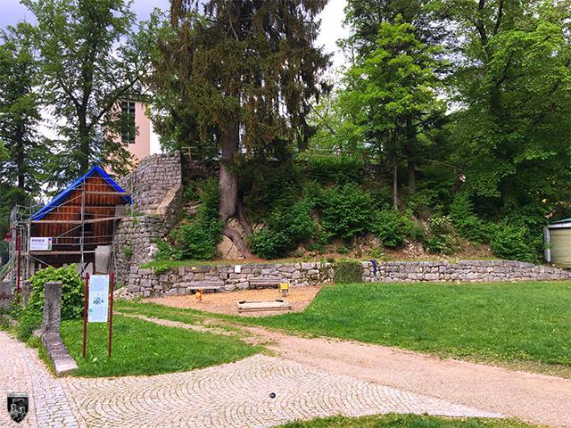 Burg Triberg in Baden-Württemberg