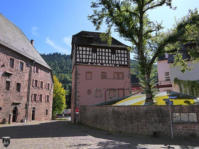Untere Burg Alpirsbach in Baden-Württemberg