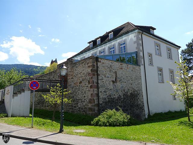 Wasserschloss Waldsteg in Baden-Württemberg