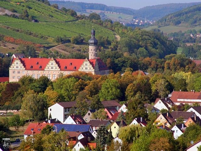 Schloss Weikersheim in Baden-Württemberg