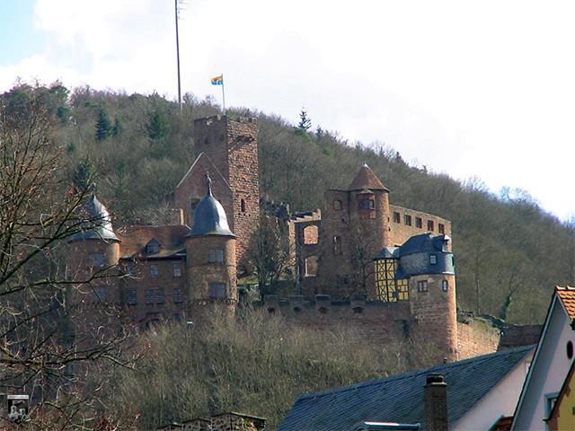 Burg Wertheim in Baden-Württemberg