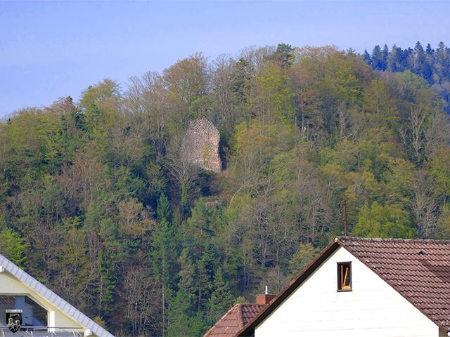 Burg Wiesneck in Baden-Württemberg