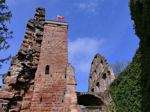 Burg Zavelstein in Baden-Württemberg