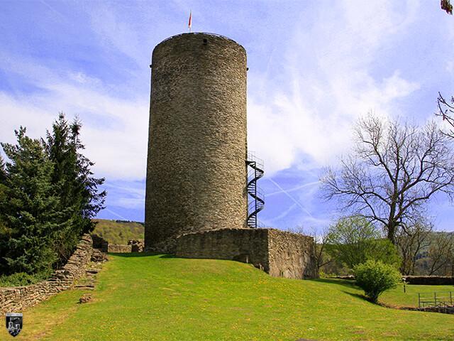 Burg Altweilnau in Hessen