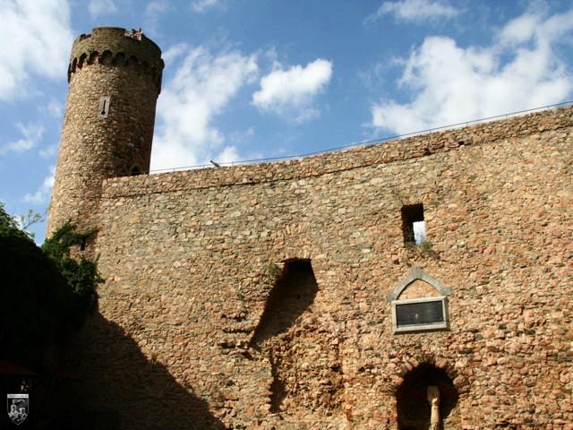 Auerbacher Schloss, Burg Auerburg in Hessen