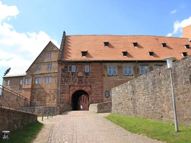 Burg und Festung Breuberg in Hessen