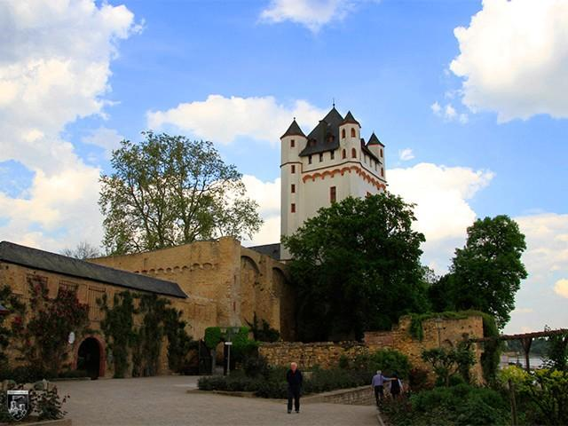 Kurfürstliche Burg Eltville in Hessen