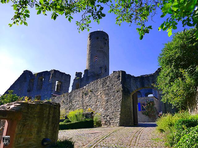 Burg Eppstein in Hessen