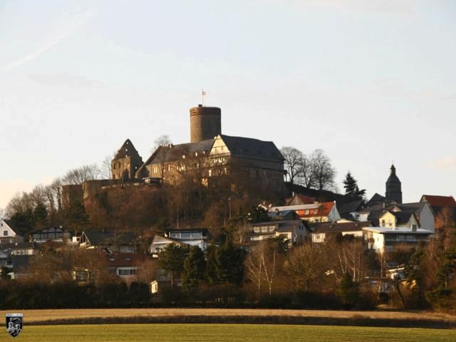 Burg Gleiberg in Hessen
