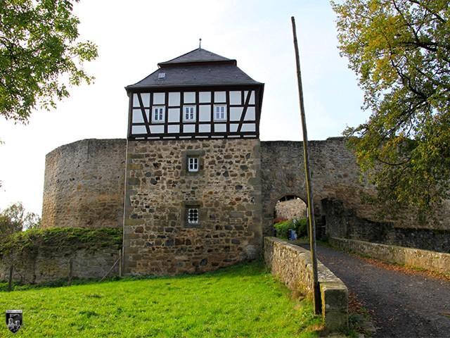 Burg Herzberg in Hessen