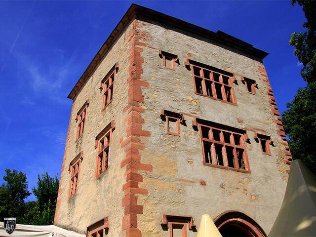 Hinteres Schloss Heusenstamm in Hessen