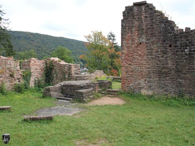 Burg Neckarsteinach, Hinterburg