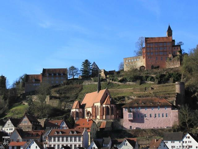 Burg Hirschhorn in Hessen