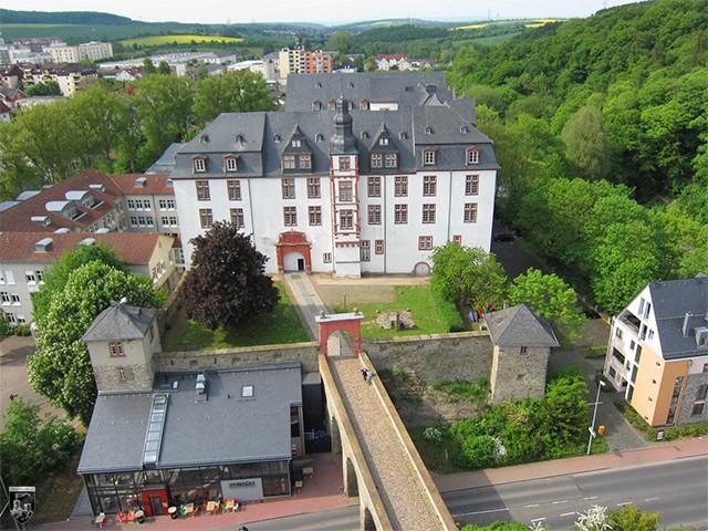 Residenzschloss und alte Burg Idstein, Hexenturm in Hessen